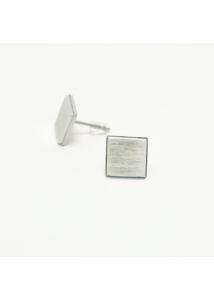 Design fülbevaló - beszúrós négyzet