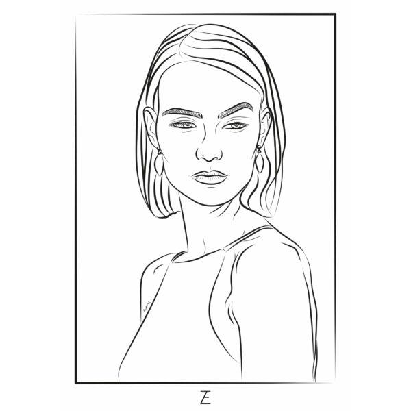 Zemse Színező 3 - Fülbevaló