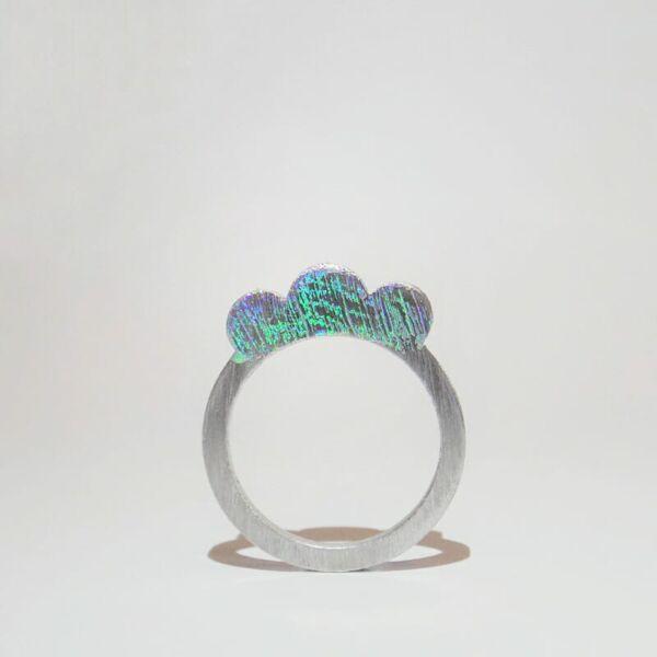 Design gyűrű - Hologram 2