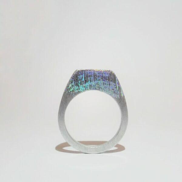 Design gyűrű - Hologram 1